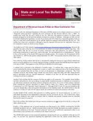 Bulletin - Bradley Arant Boult Cummings LLP