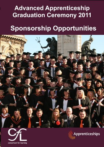 Sponsorship Opportunities Booklet 2011 - Consortium For Learning