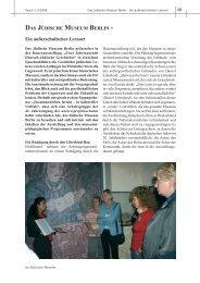 DAS JÜDISCHE MUSEUM BERLIN - Ein außerschulischer Lernort - unesco ...