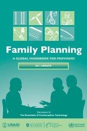 2011 UPDATE - A Global Handbook for Providers