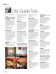City-Guide Turin