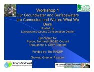 Event 1 - Center for Environmental Quality, Wilkes University