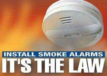 Install Smoke Alarms - Niagara Falls