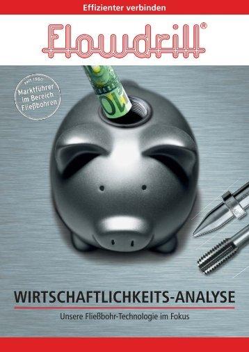WIRTSCHAFTLICHKEITS-ANALYSE - Flowdrill