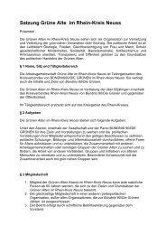 Satzung GRÜNE ALTE im Rhein-Kreis-Neuss als pdf - GRÜNEN im ...