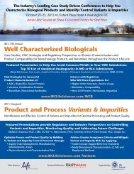 Product and Process Variants & Impurities