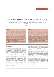 SYNDROME OF LESER-TRELAT: A CASE PRESENTATION