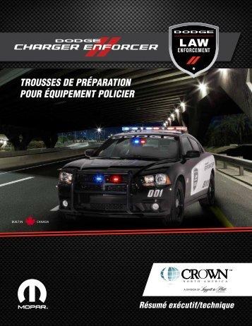 trousses de préparation pour équipement policier - Crown North ...