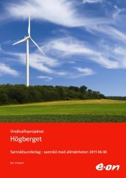 Högberget - E-on