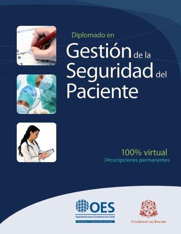 diplomado seguridad paciente - Centro de Gestión Hospitalaria