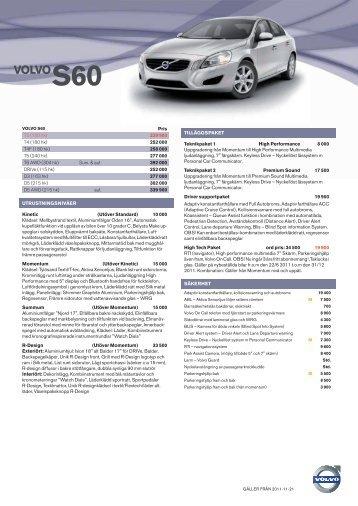 VOLVOS60 - Bra Bil