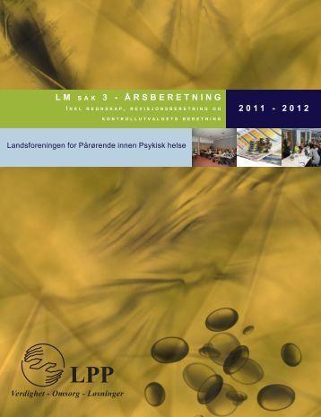 Årsberetning 2013 - LPP
