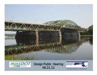 Public Hearing Presentation - Whittier Bridge/I-95 Improvement Project