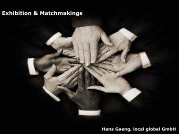 Exhibition & Matchmakings - Afida