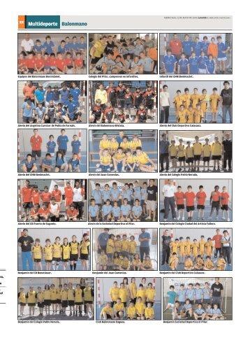 xx Multideporte Balonmano - CHM Valencia