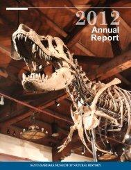 2012 Annual Report (Web) - Santa Barbara Museum of Natural History