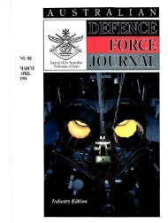 ISSUE 105 : Mar/Apr - 1994 - Australian Defence Force Journal