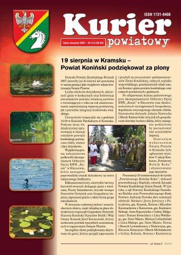 Kurier Powiatowy nr 5-6(68-69) - Powiat koniński