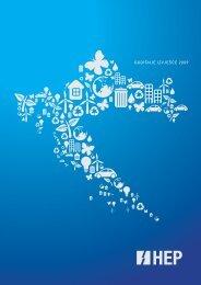 godišnje izvješδe 2009 - HEP Grupa