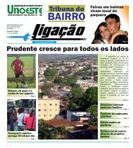 Jornal Ligação Tribuna do Bairro - Unoeste