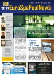 the UK pool and spa industry in 2013 - Eurospapoolnews.com