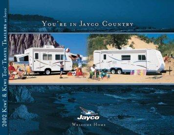Kiwi Too™ travel trailers - Jayco