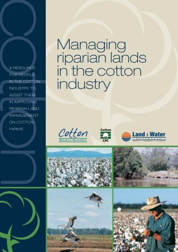 Managing riparian lands in the cotton industry - Greening Australia