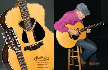 Sing Out! 60th Anniversary Pete Seeger Custom Artist Editions