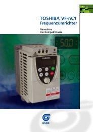Frequenzumrichter VF-nC1 - esco Antriebstechnik
