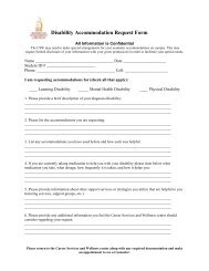 Disability Accommodation Request Form - AUK