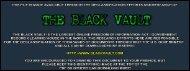 2010 & 2011 - The Black Vault