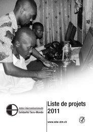 41 Projets en l'an 2011