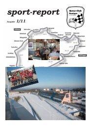 mcr sport report 2011 / 1 - Motor Club Roetgen e.V. im ADAC