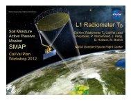 5. L1 Radiometer TB - SMAP - NASA