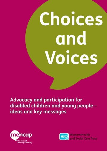 Advocacy and participation for disabled children and young people ...