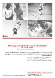 Managing Absolute Cardiovascular Disease Risk - ARCHI