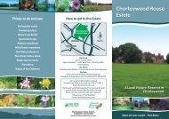Chorleywood leaflet