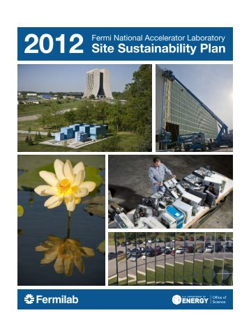 Site Sustainability Plan - Fermilab FESS