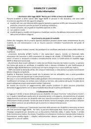 Guida Legge 68 - Provincia di Monza e della Brianza