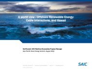 A world view - Offshore Renewable Energy - Clean Technology and ...