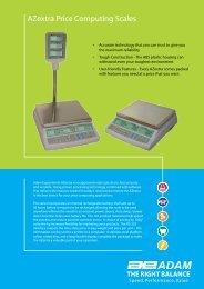 AZextra Price Computing Scales - Adam Equipment