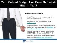 View the PowerPoint slides - New Jersey School Boards Association