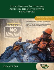Issues Related To Hunting Access In the United States - National ...