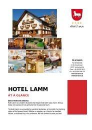 1 - Hotel Lamm