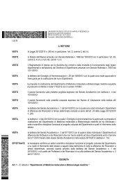 Medicina molecolare e Biotecnologie mediche - Università degli ...
