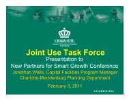 Joint Use Task Force - New Partners for Smart Growth Conference
