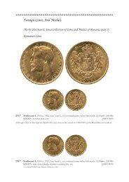 Foreign Coins And Medals - St James's Auctions