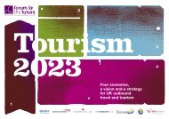 Tourism 2023 full report - Forum for the Future