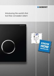 Introducing the world's first tool-free concealed cistern - ASC Info
