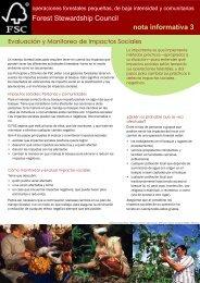 Evaluación y Monitoreo de Impactos Sociales